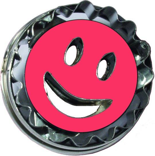 Ausstechform Smiley, mit Auswerfer