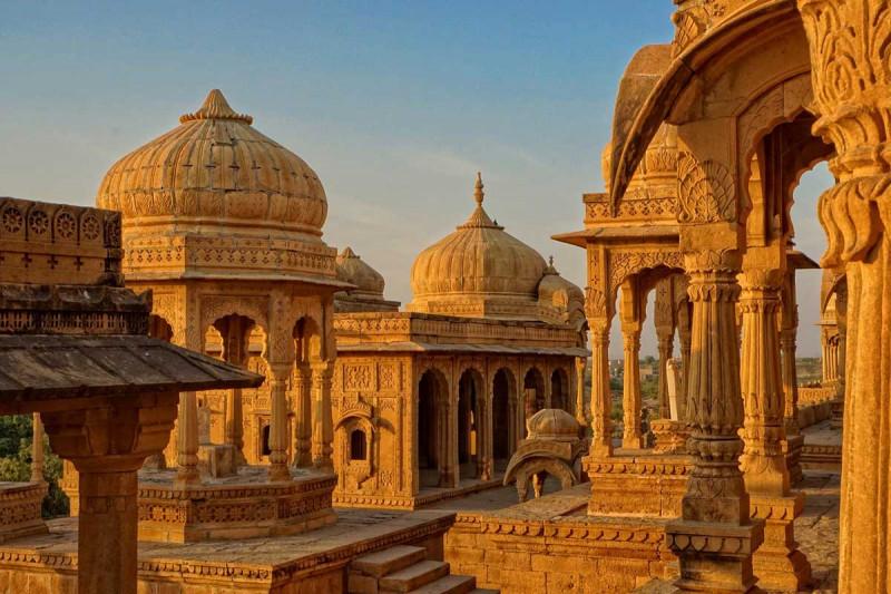 Bada Bagh Gebaeude Indien Bremer Gewuerzhandel