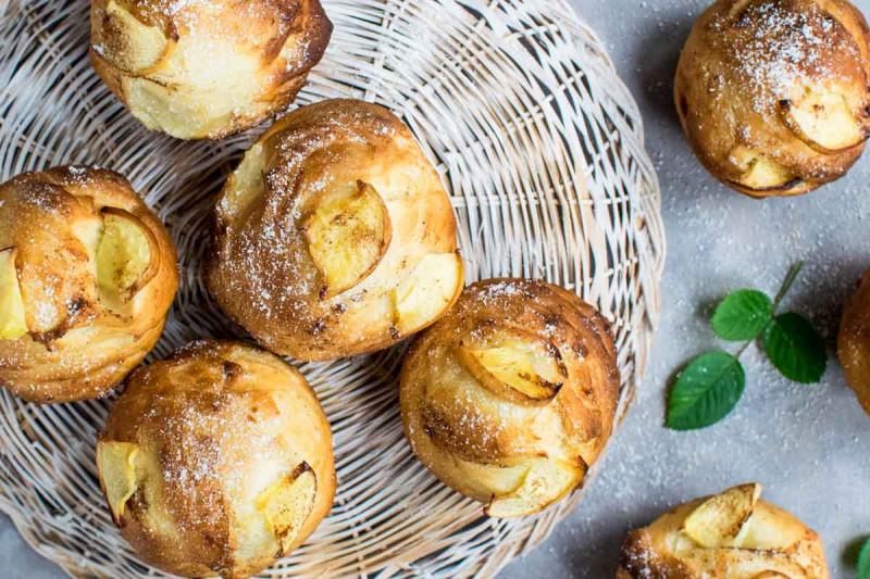 apfel zimt muffins rezept bremer gewuerzhandel