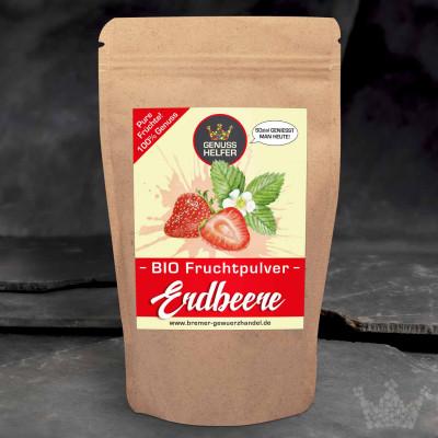 BIO Fruchtpulver Erdbeere