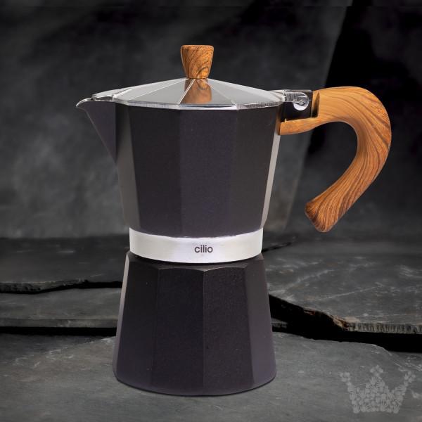 Espressokocher Classico Natura 6 Tassen