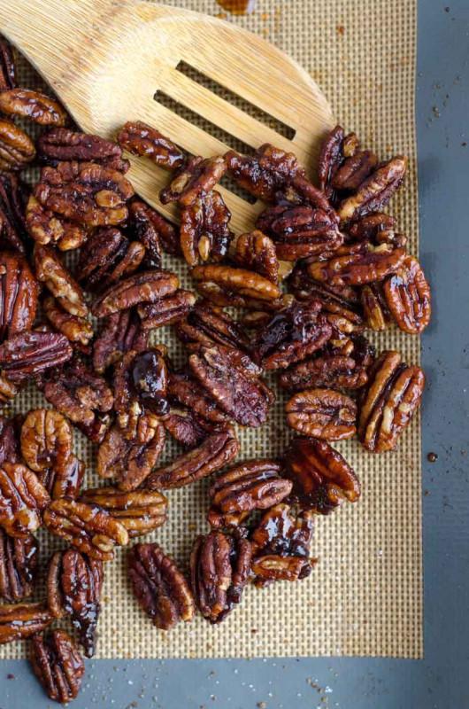 nuesse pecanuesse geroestet roesten karamell bremer gewuerzhandel