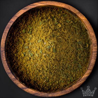 Grünes Curry, gemahlen