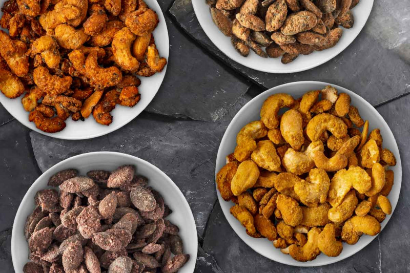 geroestete nuesse cashew kuerbiskerne bremer gewuerzhandel klein