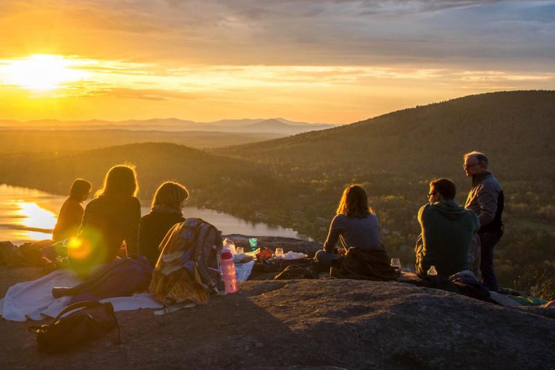 picknick pause draussen berge snack unterwegs reiseproviant bremer gewuerzhandel