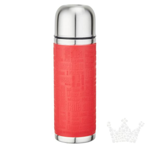 Emsa Isolierflasche Senator Sleeve, rot, 1l