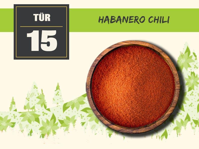 15 habanero chili