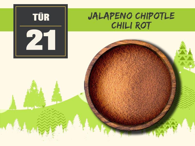 21 jalapeno chipotle chili rot
