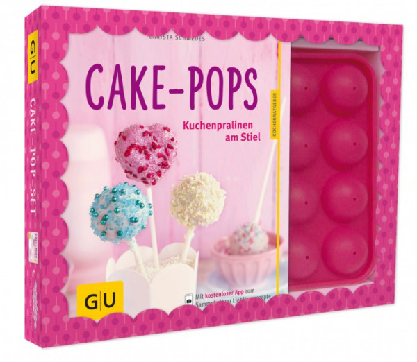 Cake-Pop-Set inkl. 1 Cake-Pop Backform, für 16 Cake-Pops / Christa Schmedes