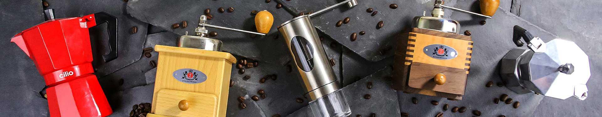 Kaffeezubereitung mit Kaffeebereiter & Espressokocher