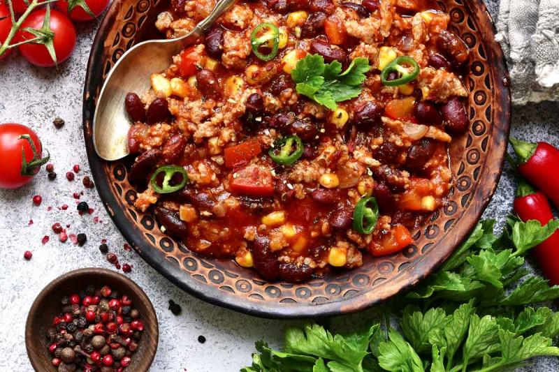 chili con carne rezept feurig bremer gewuerzhandel