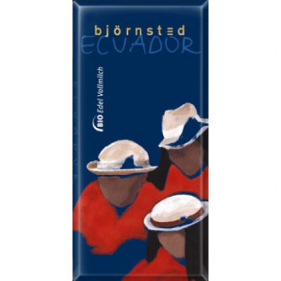 Björnsted Ecuador Milk 37 % Edel Vollmilch Schokolade