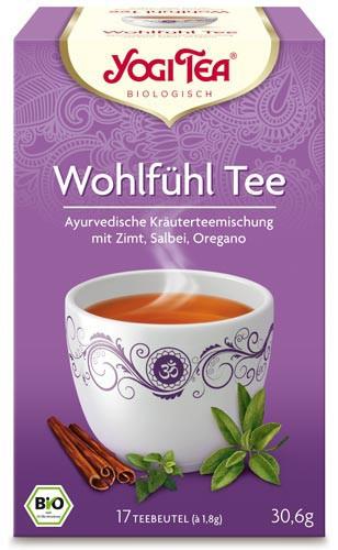 Yogi Tee Wohlfühl Tee, BIO