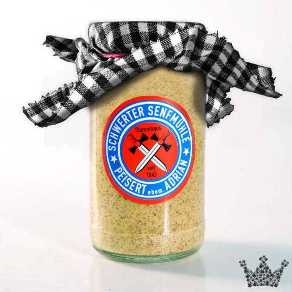 Scharfer Honig Senf, süßlich