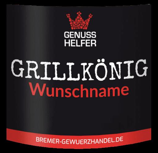 grillkoenig etikett beispiel
