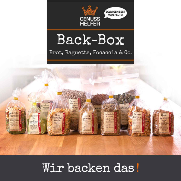 Genuss-Set Back-Box Brot