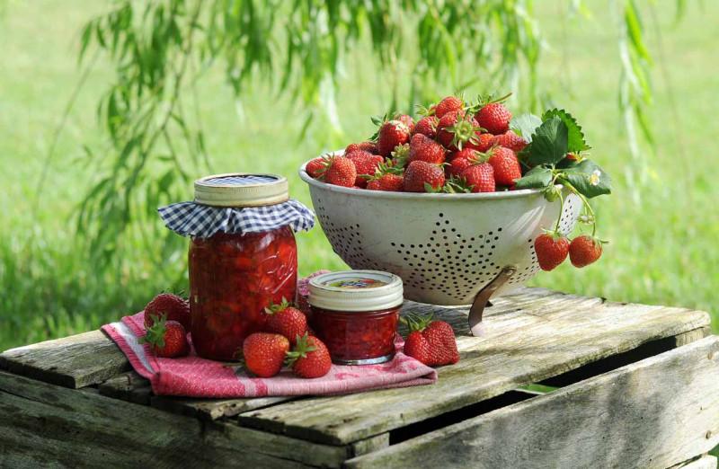 erdbeeren marmelade