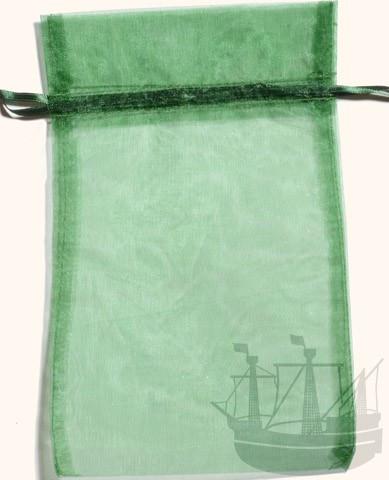 Organzabeutel, Geschenkverpackung, 20x12 cm, grün