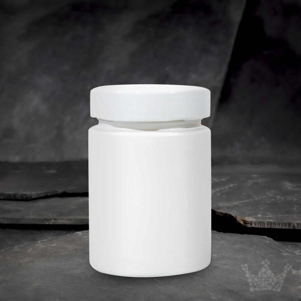 Gewürzglas mit Schraubverschluss, weiß, 192ml,92 x62 mm