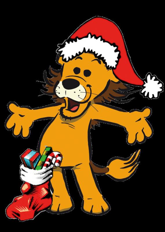 Lion Weihnachtsloewe 1