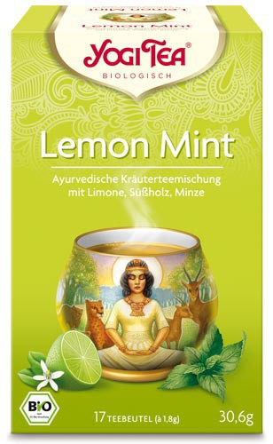 Yogi Tee Lemon Mint, BIO