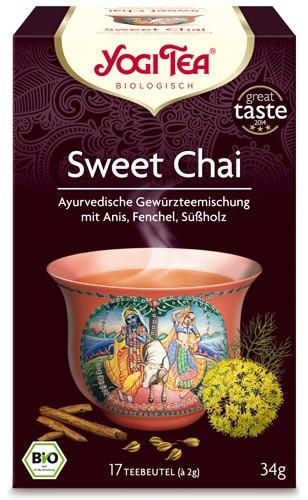 Yogi Tee Sweet Chai, BIO
