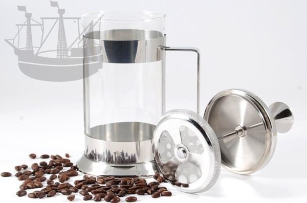 Kaffeebereiter Laura, 1 l, Edelstahl