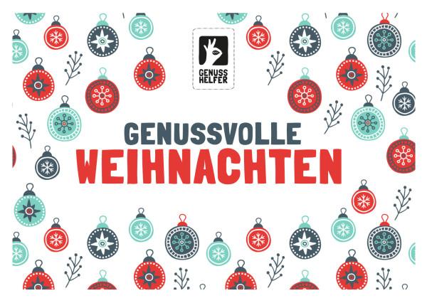Gutschein zum Ausdrucken über 50 EUR Weihnachten hell
