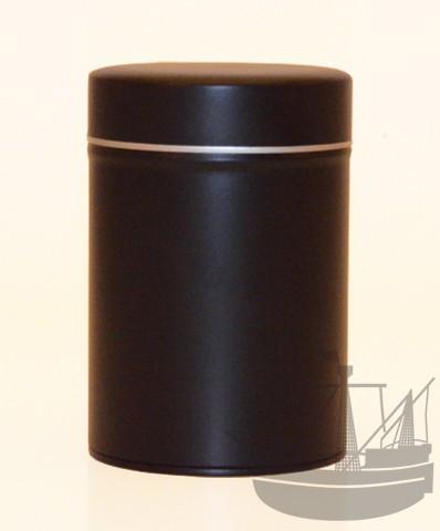 Gewürzdose mit Aromaverschluss, 85 x 128 mm, schwarz
