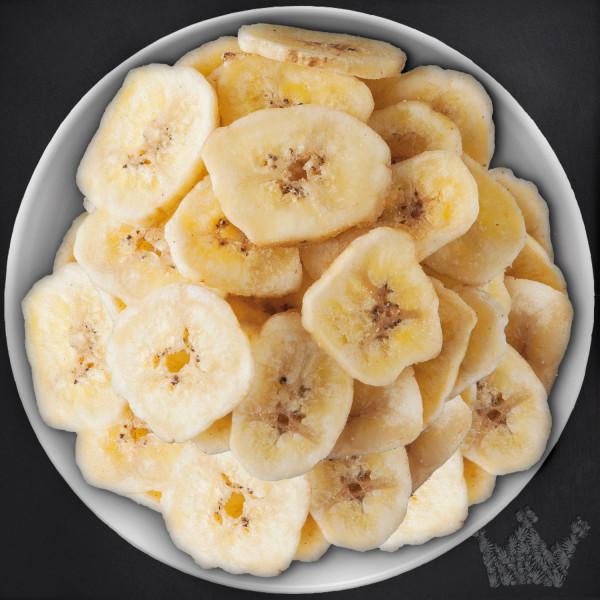 Bananenchips, ohne Zuckerzusatz