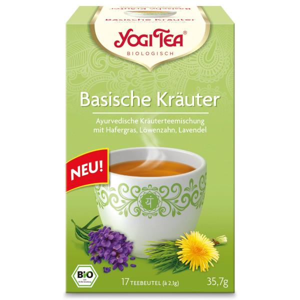 Yogi Tee Basische Kräuter, BIO