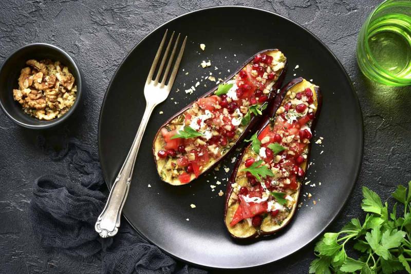 auberginen mit waln sse bremer gewuerzhandel
