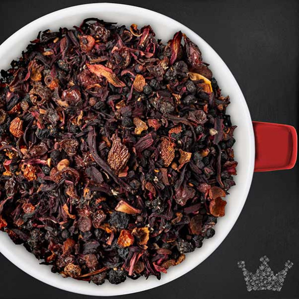 Rumtopf Tee, Früchtetee