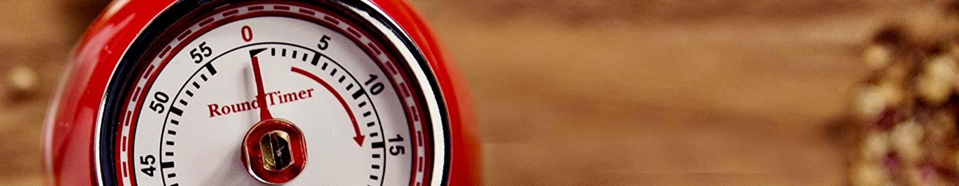 Küchentimer, Kurzzeitmesser & Eieruhren
