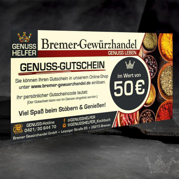 Geschenk-Gutschein über 50 EUR