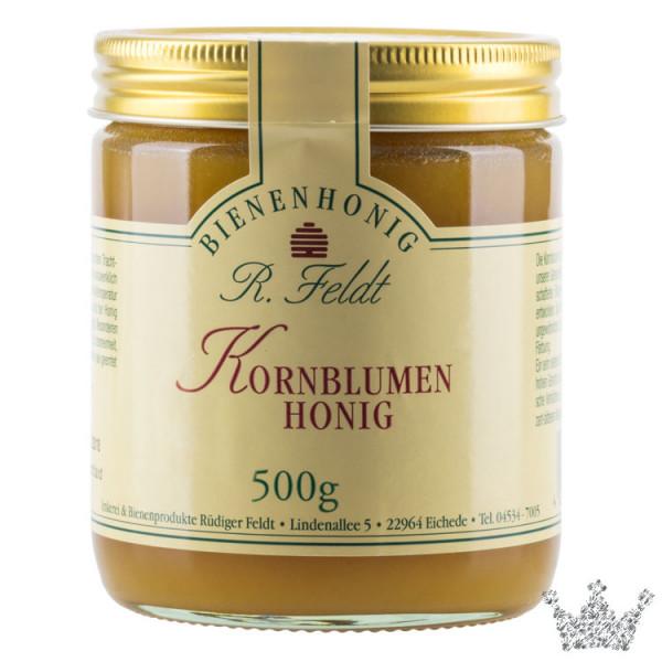 Kornblumen Honig
