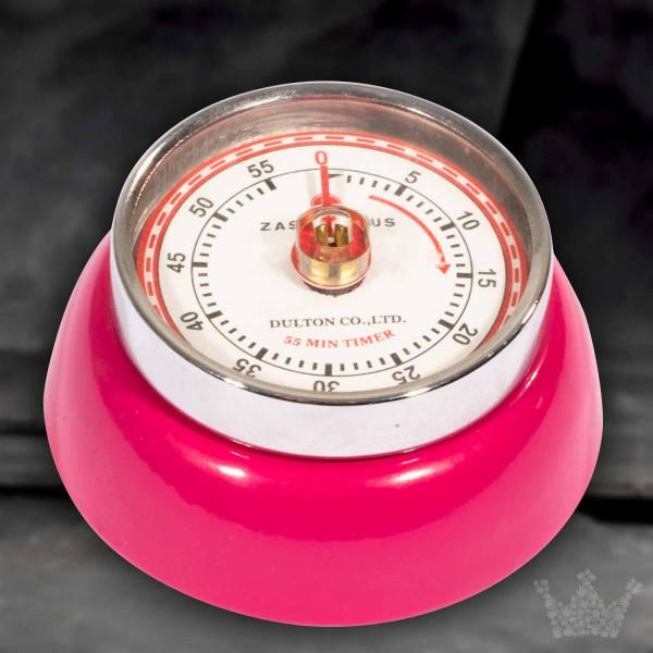 Küchentimer / Eieruhr retro, pink, Zassenhaus