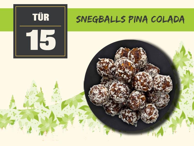 15 snegballs pina colada