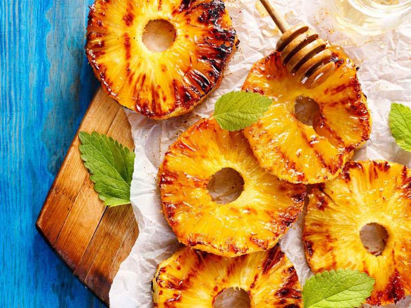 Grillen Obst Ananas Bremer Gewuerzhandel