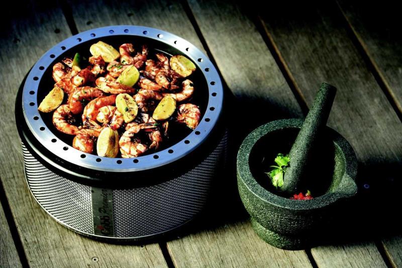 cobb grill platte meeresfruechte gewuerze