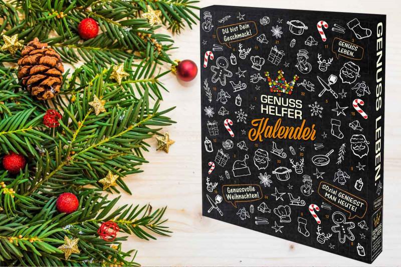 genusshelfer kalender adventskalender mit gewuerzen bremer gewuerzhandel