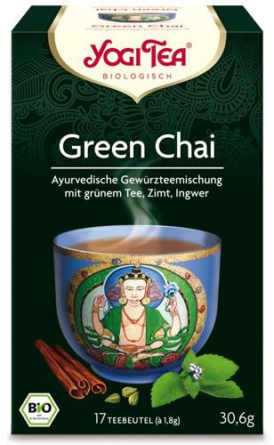 Yogi Tee Green Chai, BIO