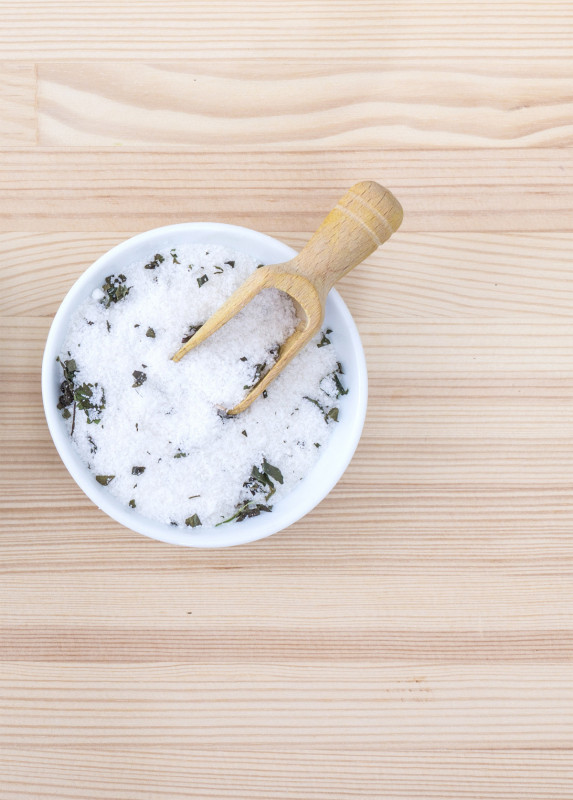 Verschiedene Salz Sorten