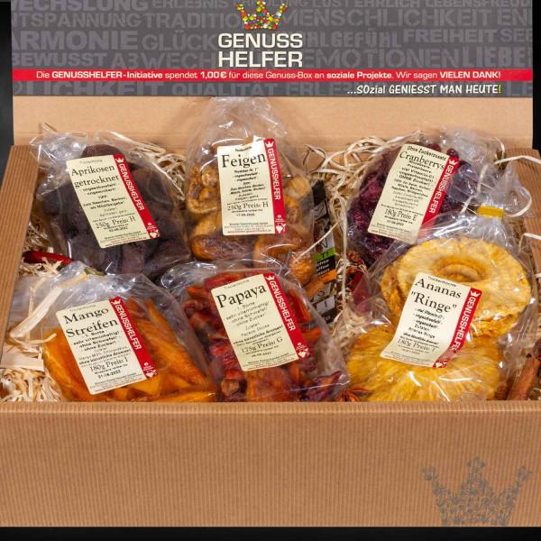 Genuss Box Naschen ohne Reue, FrüchteBox 6 Tlg.