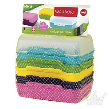 Clipbox Variabolo, 6-teilig, Emsa
