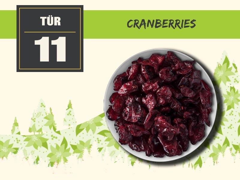 11 cranberries