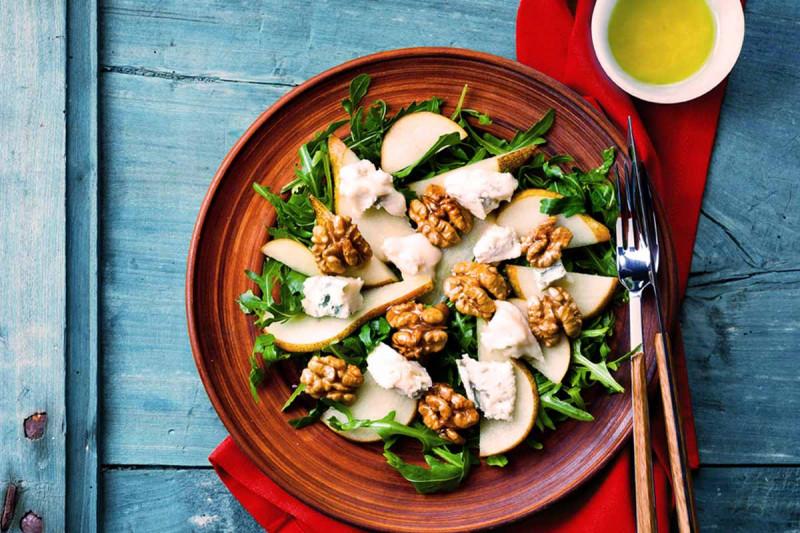 birnen walnuss salat Bremer