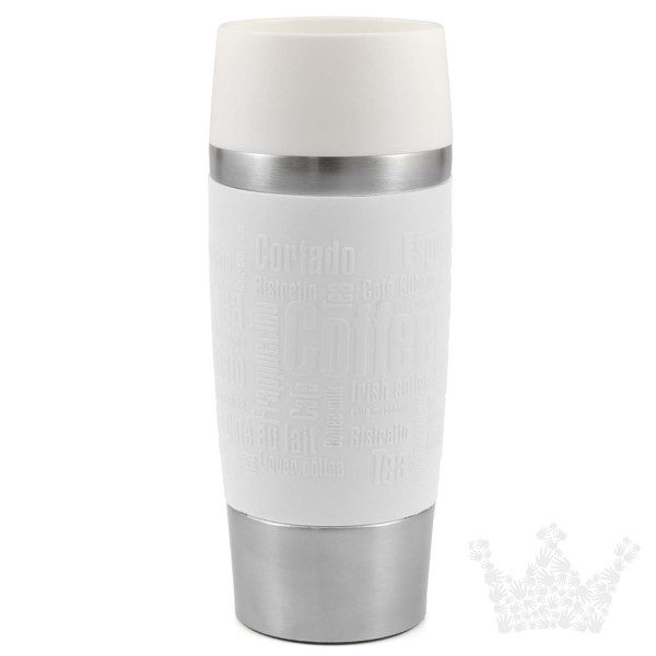 Emsa Travel Mug 0,36l, weiß