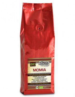 MOMIA Kaffee Hausmischung, vollmundig, BIO, gemahlen