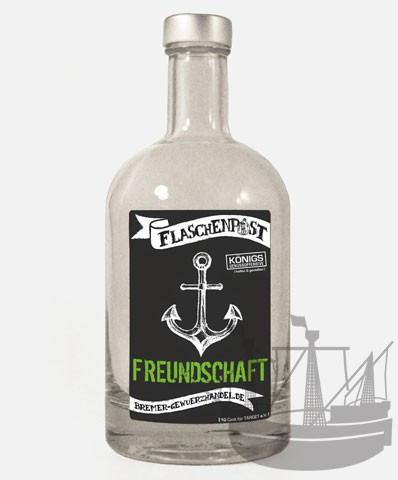 Flaschenpost, Freundschaft, 500ml
